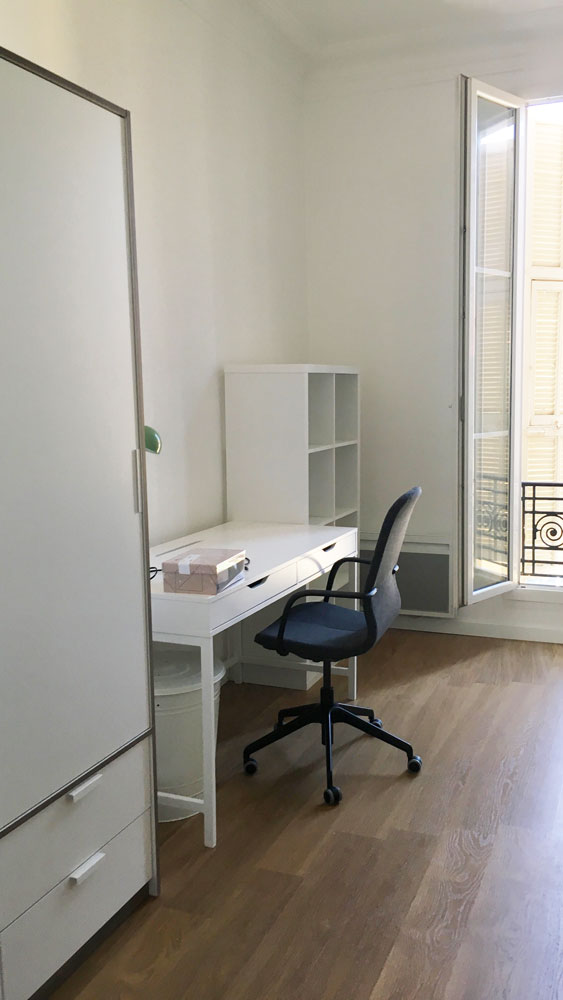 chambre logement étudiant externe à la prepa santé paces+ nice