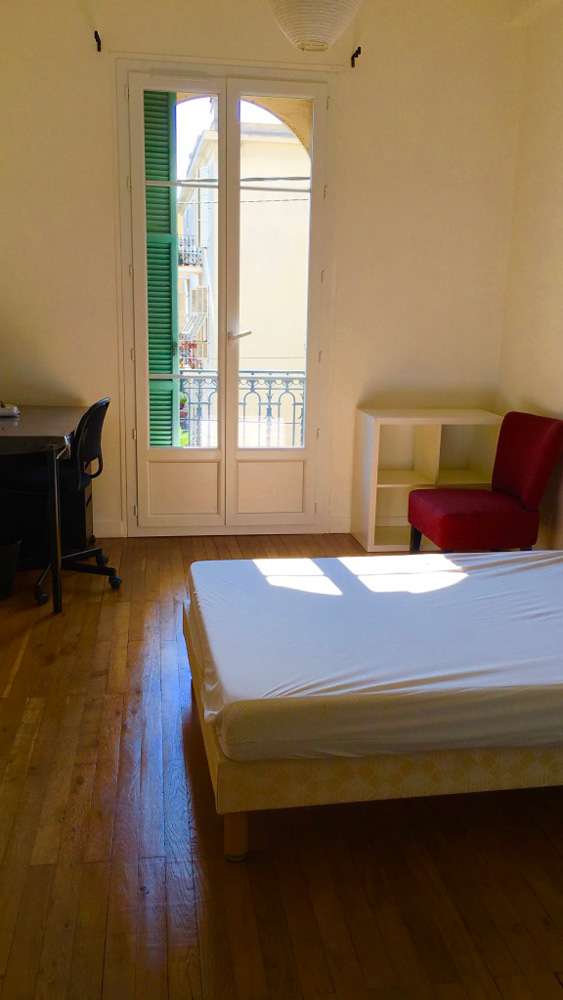 chambre logement étudiant externe à la prépa médecine PACES+ nice