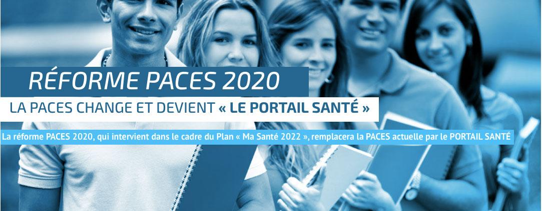 reforme paces 2020 et portail sante