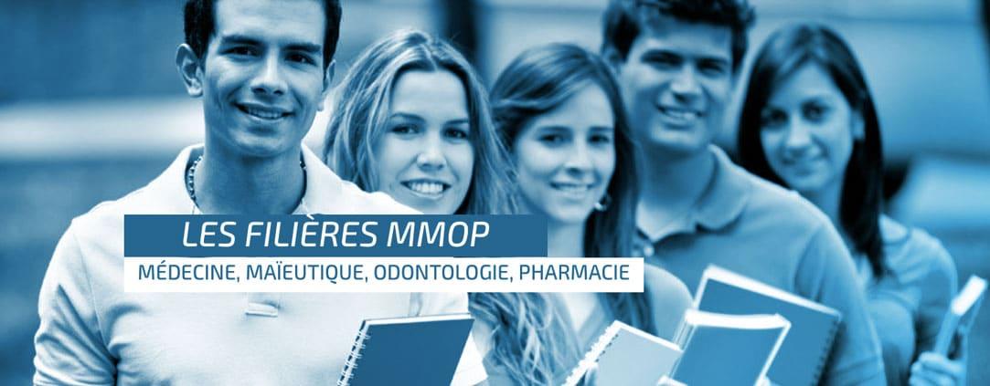 Les filières MMOP et études de santé